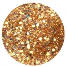 Confetti with Glitter Dust, bronze