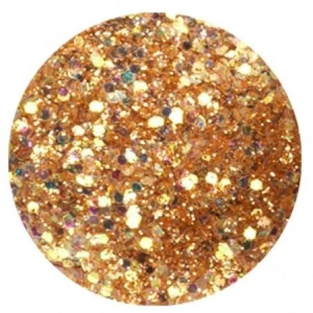 Confetti with Glitter Dust, bronze