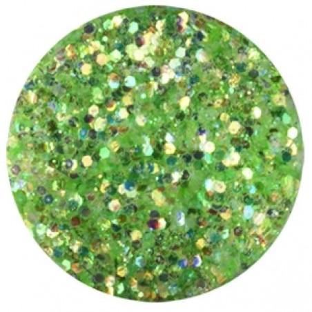 Confetti with Glitter Dust, green