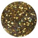 Glitter-hologrammid, kuldne, GH11