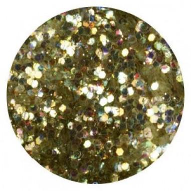 Glitter-hologrammid, helekuldne, GH16