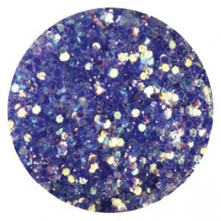 Confetti with Glitter Dust, dark violet