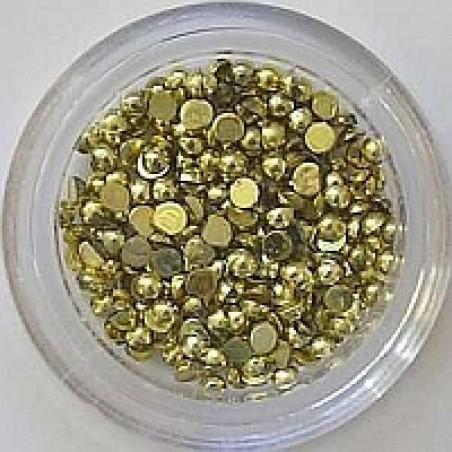 Pärlid, 2mm, kuldne