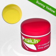 Color Gel, Sunny Yellow, 5g