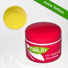 Värviline geel, Juice Yellow, 5g