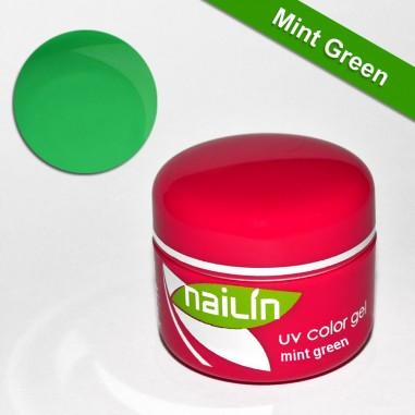 Värviline geel, Mint Green, 5g