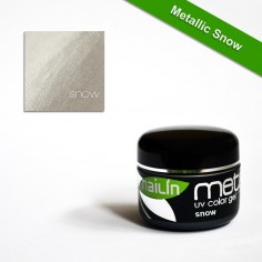 Color Gel, Metallic Snow, 5g