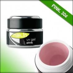 Aufbau-Gele, Pink, 30g