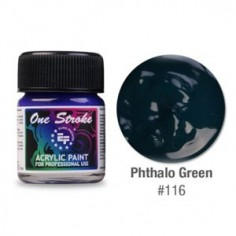 Akrüülvärv, One Stroke, Phthalo Green 116, 15ml