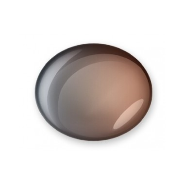2-värviline geel, Graphite to Brown, 7 ml
