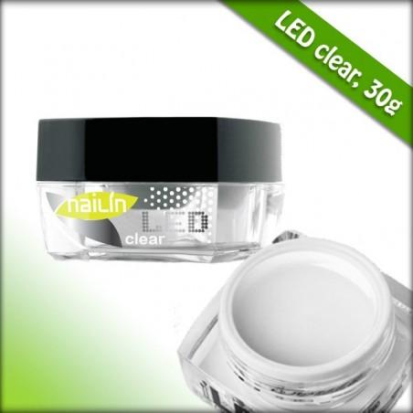 Builder Gel, LED Clear, 30g