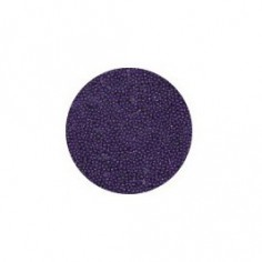 Glass bead, dark violet
