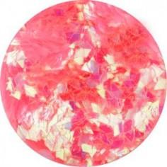 Confetti Rhombus, neon pink