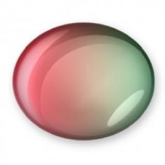 2-farbigen Gel, Ruby to Pastel Green, 7ml