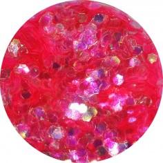 Confetti, neon pink