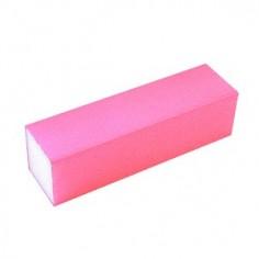 Buffer, pink, 100 grit