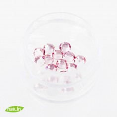 Swarovski Rhinestones, Light Rose, 4mm