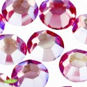 Swarovski Rhinestones, Multicolor Pink, 4mm