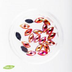 Klaasjuveelid, 6mm, punane