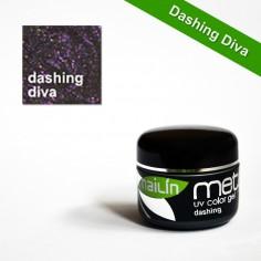 Värviline geel, Metallic Dashing Diva, 5g