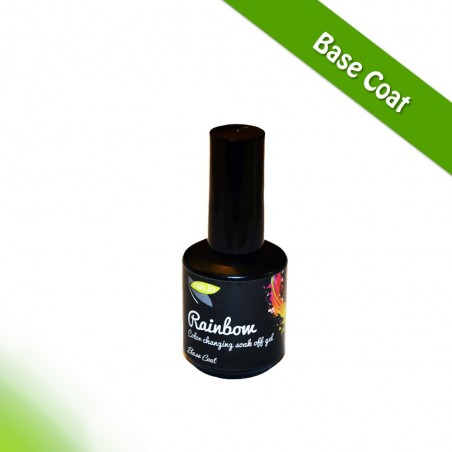 Rainbow, Base Coat, 15ml