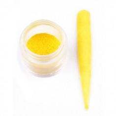 Velvet pulber, kollane