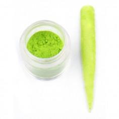 Velvet pulber, roheline
