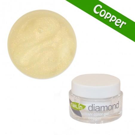 Color Gel, Diamond Copper, 5g