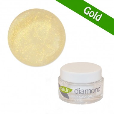 Värviline geel, Diamond Gold, 5g