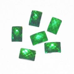 Glass Jewels, square, light green