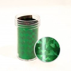 Nail Transfer Foil, green pattern