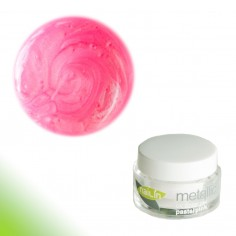 Värviline geel, Metallic Pastel Pink, 5g