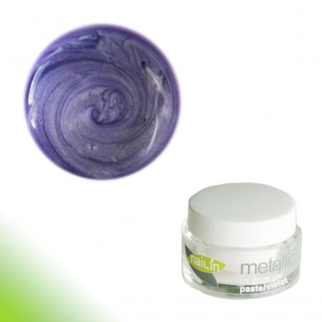 Color Gel, Metallic Pastel Violet, 5g