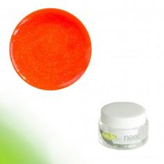 Värviline geel, Neon Glitter Orange, 5g