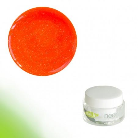Color Gel, Neon Glitter Orange, 5g