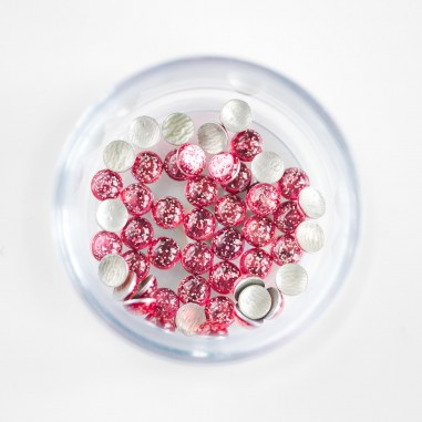Glitter Pearls, pink
