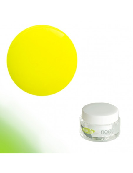 Color Gel, Neon Yellow, 5g