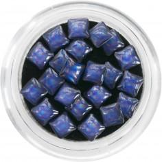 3D Pearls, violet squares