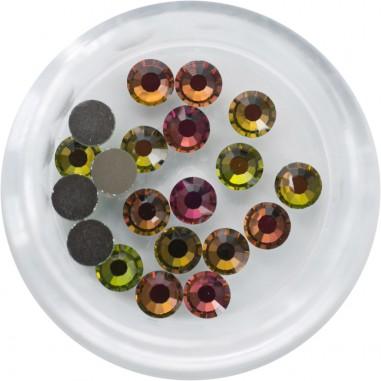Swarovski Rhinestones, Crystal Vitral Medium, 4mm
