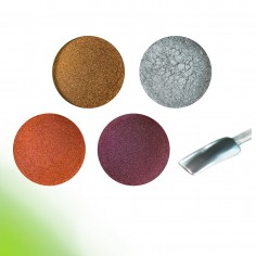 Chrome mirror pigment kit