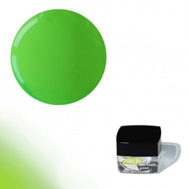 Värviline geel, Gel Paint Green, 4g