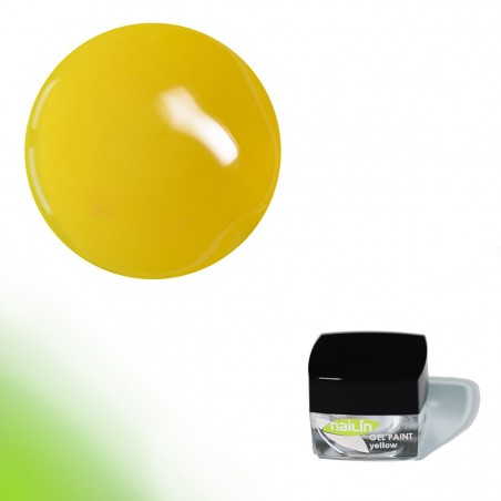 Gel Paint, Yellow, 4g