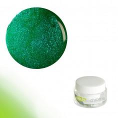 Värviline geel, Chrome FlipFlop Green, 5g