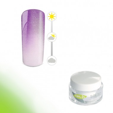 Värvimuutev geel, Solar Glam Purple, 5g