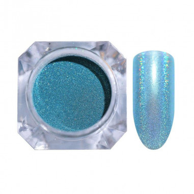 Holographic glitter, Turquoise