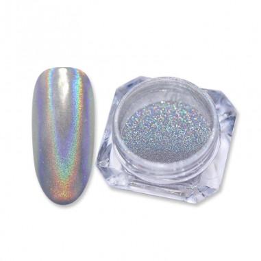 Holographic glitter, Silver 1