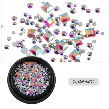 Crystal AB Rhinestones for nail art