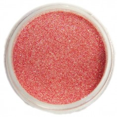 Glitter dust, light red