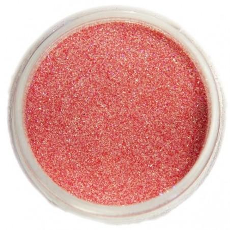 Glitter dust, light red