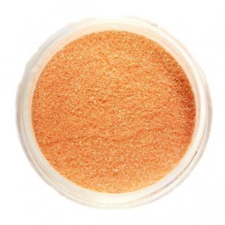 Glitter, light orange